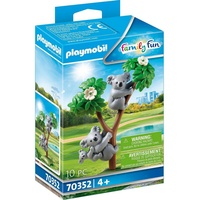 Playmobil Family Fun 2 Koalas mit Baby