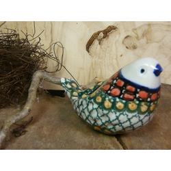 Vogel, 9,5 x 6,5 cm, Unikat 1 - Wohnen Geschirr - BSN 20969
