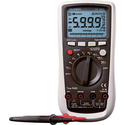 VOLTCRAFT VC850 Hand-Multimeter digital CAT III 1000 V, CAT IV 600V Anzeige (Counts): 6000