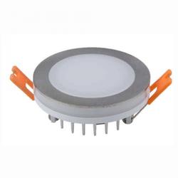 Heitronic LED Einbaustrahler 6W 450lm nickel-matt 3000 Kelvin