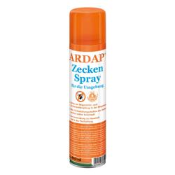ARDAP Zeckenspray für die Umgebung, Hilft zuverlässig speziell gegen Zecken, Milben, Flöhe und Läuse uvm., 400 ml - Spraydose