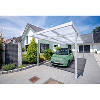 Gutta Premium Carport 309,4 x 562 cm, anthrazit, PC klar 16 mm