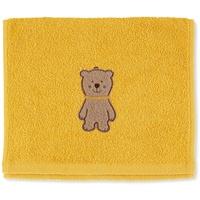 STERNTALER Kinderhandtuch Ben, gelb 50 x 30 cm,
