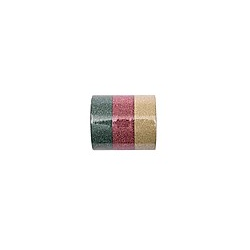 Glitter Tape Set  Rot/Grün/Gold