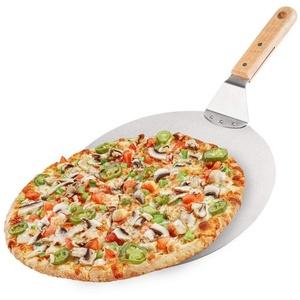Vilde Pizzaschaufel/Pizzaschieber aus Stahl mit Holzgriff 30,5 cm