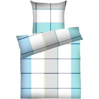 DYCKHOFF Celina blau 135 x 200 cm + 80 x 80 cm