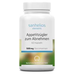 sanhelios erlements Appetitzügler zum Abnehmen 500mg Glucomannan