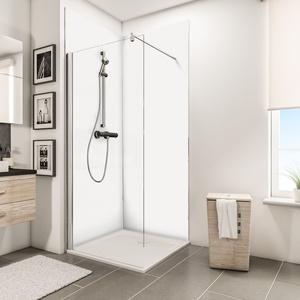 Schulte ExpressPlus 72H Decodesign Duschrückwand-Eckset Farbe - weiß - EP1900911 04