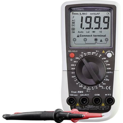 VOLTCRAFT VC251 (K) Hand-Multimeter kalibriert (ISO) digital CAT III 600V Anzeige (Counts): 2000
