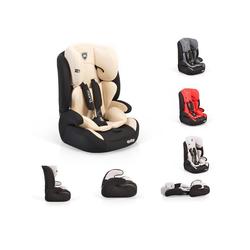 Moni Autokindersitz Kindersitz Armor Gruppe 1/2/3, 5.4 kg, (9 - 36 kg) 1 bis 12 Jahre, Innenkissen natur