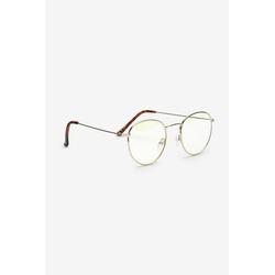 Next Brille Brille mit Blaulichtfilter und Metallgestell, None