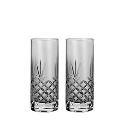Frederik Bagger Dark Highball-Glas 37 cl 2er-Pack