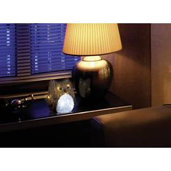 Polarlite LBA-52-003 Acryl-Figur Eule LED Braun