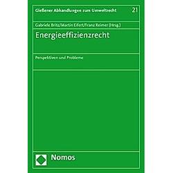 Energieeffizienzrecht - Buch