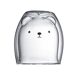 Gotui Thermoglas, Glasbecher Hot Beverages Becher aus Glas Thermogläser Hot&Cold Beverages Süß