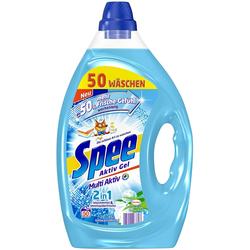Spee Aktiv Gel 2-in-1 Flüssigwaschmittel 50 Waschladungen Weichspülerfrische
