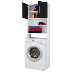 Waschmaschinenüberbau Jutas(BHT 64x190x25 cm) VCM
