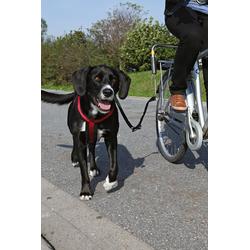 TRIXIE Hundeleine Biker-Set, für große Hunde schwarz