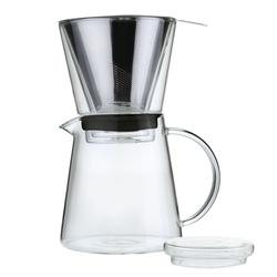ZASSENHAUS Kaffeezubereiter COFFEE DRIP Kaffeefilter & Kaffeekanne im Set
