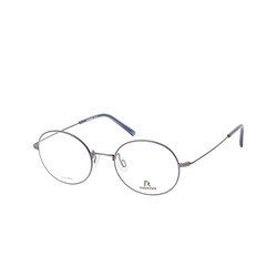 Rodenstock RODENSTOCK R 2616, inkl. Gläser, Runde Brille, Herren
