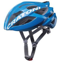 Cratoni Fahrradhelm Road-Fahrradhelm C-Bolt, Reflektoren, eingeschäumte Gurtbänder blau 60/62 - 60 cm - 62 cm