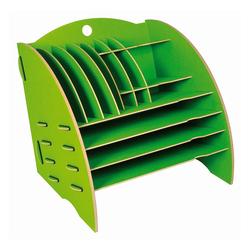 WERKHAUS® Briefablage Werkhaus - Ablage Big Organizer Grün Briefablage Stiftehalter Schreibtisch