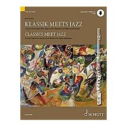 Klassik meets Jazz  Flöte und Klavier. Uwe Korn  - Buch