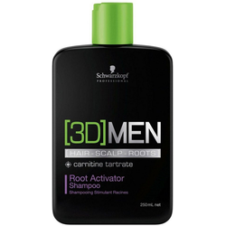 Schwarzkopf Professional Haarshampoo [3D] Men Root Activator Shampoo, 1-tlg., aktiviert Haarwachstum