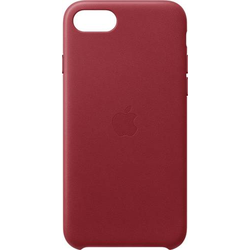 Apple iPhone SE Leather Case Case iPhone SE Rot