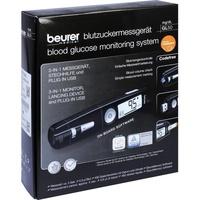 Beurer GL 50 mg/dl  3-in-1 Kompaktgerät schwarz