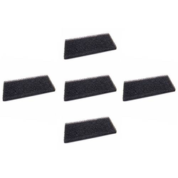 vhbw 5x Schaum-Filter für Wäschetrockner wie Whirlpool / Bauknecht Gruppe 481010716911