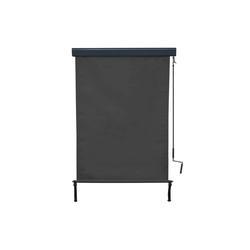 MCW Senkrechtmarkise MCW-F42 UV-Schutz 50, Windklasse 2 schwarz 100 cm x 250 cm