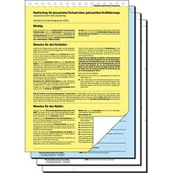 25 SIGEL Kaufverträge KV440 - für privaten Kauf oder Verkauf eines gebrauchten Kraftfahrzeugs