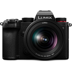 Panasonic Lumix DC-S5 + 20-60mm f3,5-5,6 L-Mount Systemkamera