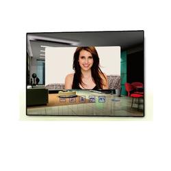 2 Draht BUS 7 Zoll Monitor Touchscreen spiegel als Erweiterung