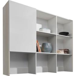 OPTIFIT Aufsatzregal Faro weiß Zubehör für Kleiderschränke Möbel Möbelaufsätze