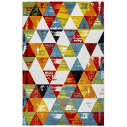Kurzflor Teppich - Ethno Style