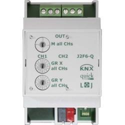 Lingg&Janke Jalousie-/Rollladenaktor 2-fach J2F6-Q KNX-Q Q79431