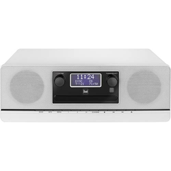 Dual DAB 420 BT CD-Radio DAB+, UKW AUX, Bluetooth®, CD Weiß
