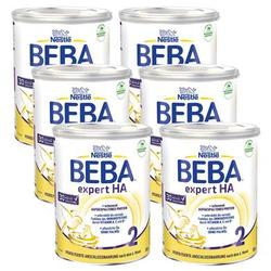 Nestlé Folgenahrung BEBA EXPERT HA 2 6 x 800 g nach dem 6. Monat