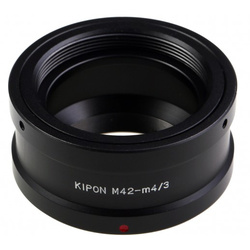 KIPON Adapter für M42 Objektive auf MFT Kamera