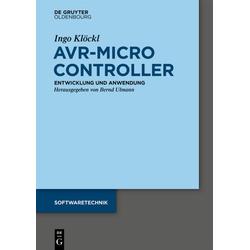 AVR - Mikrocontroller als Buch von Ingo Klöckl