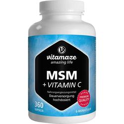 Vitamaze MSM+Vitamin C Kapseln