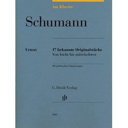 Am Klavier - Schumann als Buch von Robert Schumann