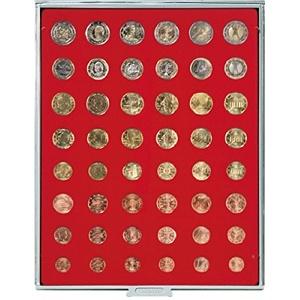 LINDNER Das Original Münzbox Standard für 6 Euro-Kursmünzensätze