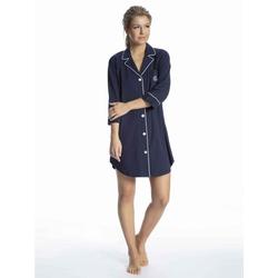Lauren Ralph Lauren Sleepshirt Nachthemd, Länge 90 cm (1-tlg) blau XS = 32/34