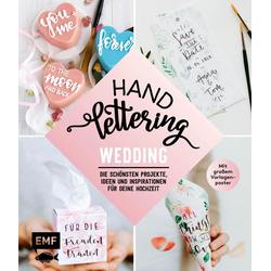 Handlettering Wedding als Buch von