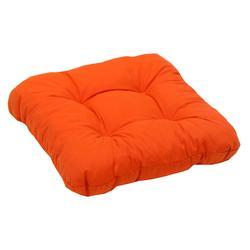 GO-DE Dekokissen, 2er Set orange Dekokissen uni Kissen