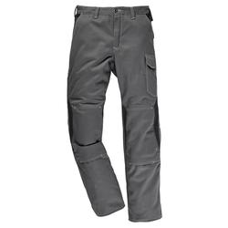 Kübler Arbeitshose mit Kniepolstertaschen grau 58