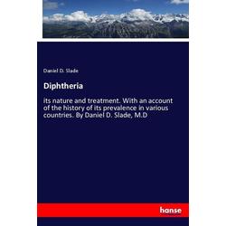 Diphtheria als Buch von Daniel D. Slade